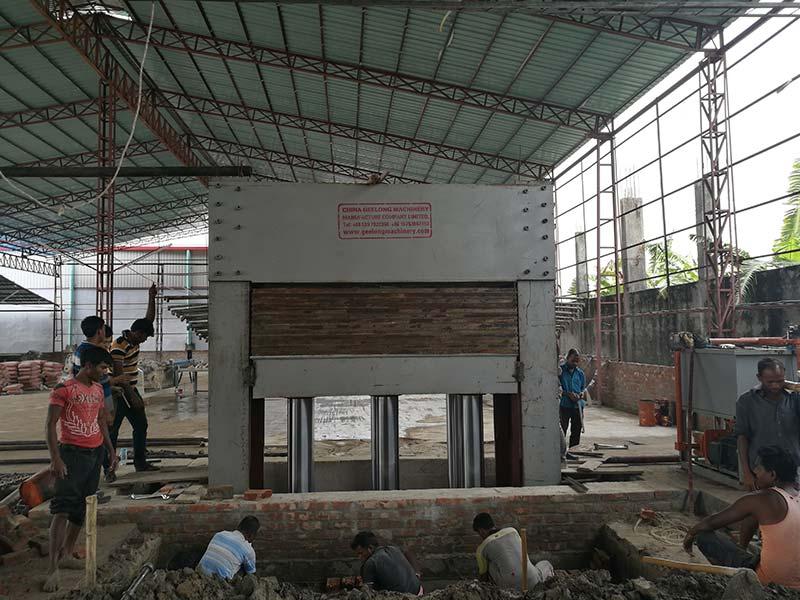 Création d'une usine de contreplaqué au Bangladesh