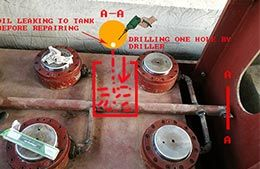 Geelong brand hot press/cold press nozzle hydraulic oil leaking methods/solution