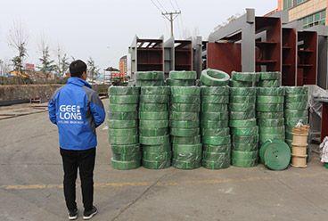 Machines à placage de bois et pièces détachées exportées au Gabon