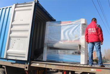 contreplaqué complet faisant la machine exportée vers notre client Indonésie