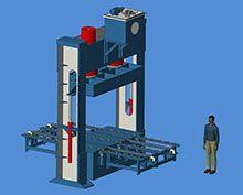 machine de presse à froid de contreplaqué