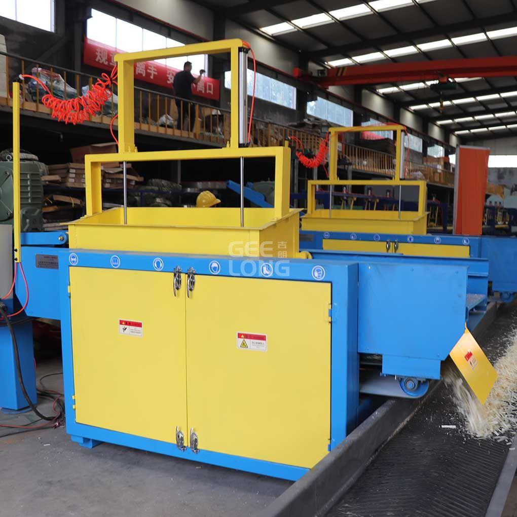 machine à copeaux de bois